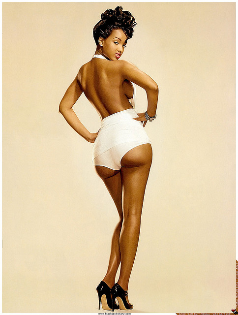 Black Pin Up Girls
