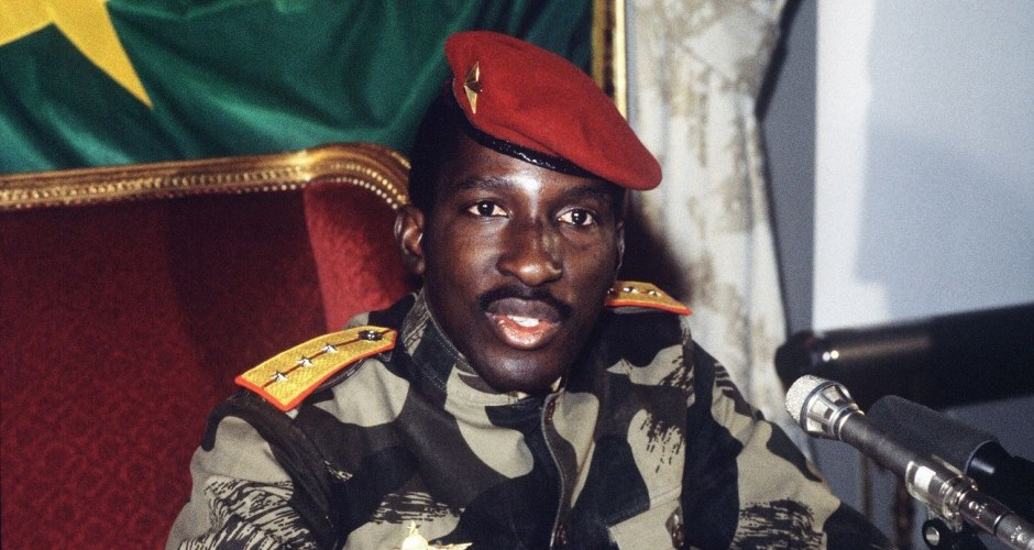 The Upright Man. Ten Lessons From Thomas Sankara