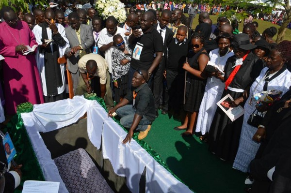 Jacob Juma funeral