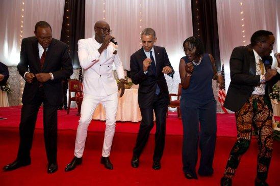 Uhuru Obama dance