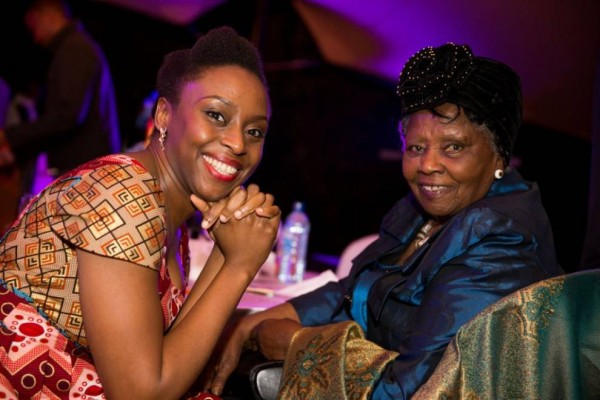 Muthoni Likimani and Chimamanda Ngozi Adichie