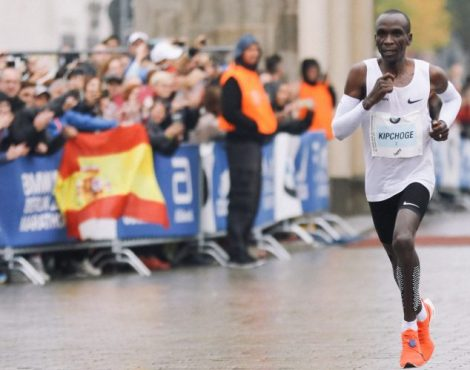 Meeting Eliud Kipchoge